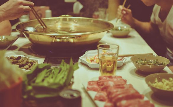 hot pot dinner china
