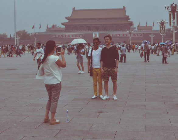 tourist picture china