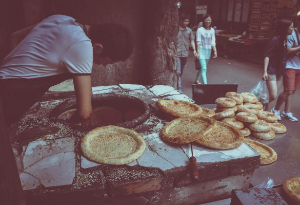 muslim bread baking china